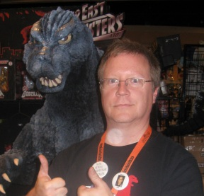 Jeff and Godzilla